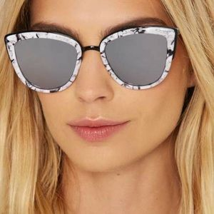 🆕 100% UV protection modern oversized cat eye
